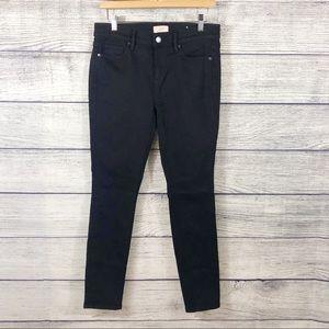 LOFT modern skinny black jeans Size 4